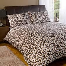 tiger print duvet cover set sweetgalas
