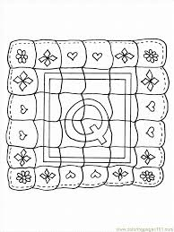 Small Picture Q Quilt Coloring Page Free Alphabets Coloring Pages