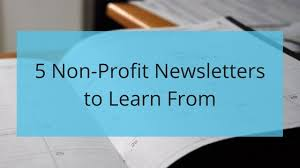 Ngo Newsletter Templates 5 Non Profit Newsletters To Learn From The Storytelling