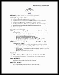 customer service resume professional a good customer service resume