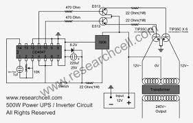 dc to ac inverter readingrat net Trailer Inverter Wiring Diagram inverter circuit diagram_circuit diagram world, circuit diagram trailer converter wiring diagram