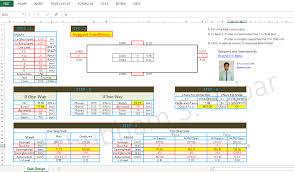 Rcc Two Way Slab Design Shubham Babar Slab Design Spreadsheet Template