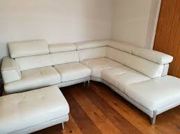 leather corner sofa immaculate condition