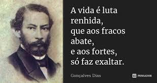 Resultado de imagem para Gonçalves Dias