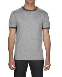 Anvil Youth Shirt Size Chart 988 Anvil Adult Lightweight Ringer Tee