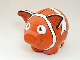 little DIY piggy bank