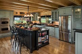 Log Home Kitchen Design