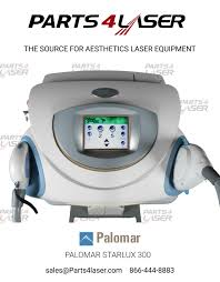 Palomar Starlux Pulsed Light And Laser System Palomar Starlux 300 Aesthetic Laser Machine Parts4laser