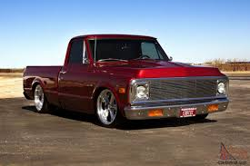 All Chevy c10 72 chevy : 1972 CHEVROLET C-10 SHORT BED PICKUP - FRAME OFF - PRO TOURING ...