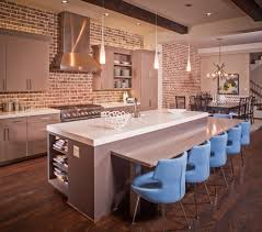 Exposed Brick Kitchen Exposed Brick Kitchen Splashback Kitchen Contemporary With