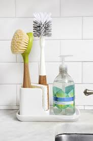 Full Circle Bintastic Sink Caddy With Cleaning Tools Full Circle Home