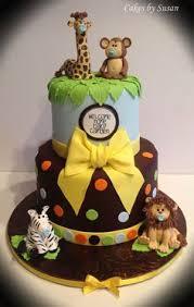 Safari Cakes For Baby Shower U2014 LIVIROOM Decors  Safari Cakes For Baby Shower Safari Cakes