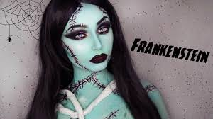 franken female frankenstein makeup tutorial