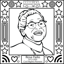 Small Picture How to Color rosa parks coloring sheet black history month