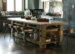 rustic kitchens with islands. Modren With Photoset 5414  Table Built With HandHewn Timbers And Reclaimed Sleeper  Middles For Top Sundance Utah Trestlewood Love This Island And The  For Rustic Kitchens With Islands I