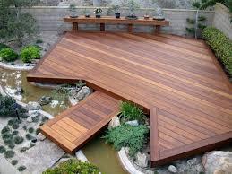 Small Picture beautiful composite deck garden design ideas garden pond