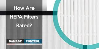 Hepa Rating Chart How Are Hepa Filters Rated The Merv Rating Damage Control 911