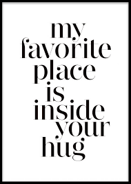 My Favorite Place Items In The Group Posters And Prints Of Desenio Delectable Posters With Love Quotes