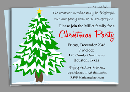 Christmas Party Funny Invitation Wording Great Office Christmas
