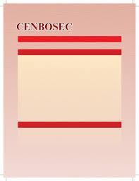 Cenbosec Oct Dec 2013