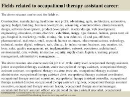16 fields related to occupational therapy occupational therapy cover letter