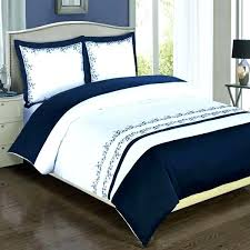 delectably navy stripe duvet bedding collection by accents cover queen blue