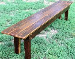 rustic wood bench. Interesting Bench Bench Wood Rustic Reclaimed Farmhouse  Dining Bench With
