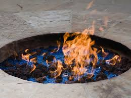 natural gas for a fire pit