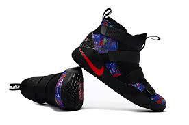 lebron water. advanced nike lebron soldier 11 black multi-color starry sky men\u0027s basketball shoes water