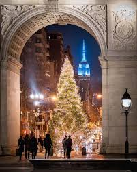Cathedral Square Park Christmas Lights Washington Square Park By 212sid New York City Christmas