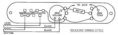 tele wiring battle royale vintage vs modern lollar pickups blog a typical modern telecaster wiring schematic