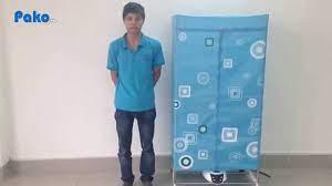 Pako.vn] Giới thiệu& và hướng dẫn sử dụng máy sấy quần áo panasonic HD-882F  / 8828FD - YouTube