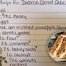 Maybe you would like to learn more about one of these? The Viral Divorce Carrot Cake Everyone Is Making 9kitchen