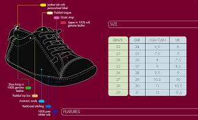 Infant Foot Size Chart By Age Our Sizes Clothes Shoes