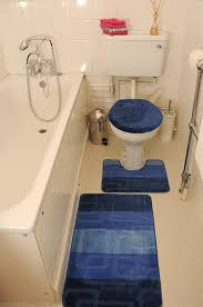bathroom bathroom winsome blue bath mat pedestal toilet seat cover piece rug bathroom winsome blue