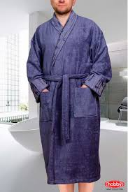 Банный халат <b>eliza</b> цвет: серый от hobby home collection из ...