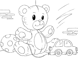 Coloriage Nounours Img 22822