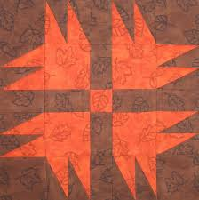 Starwood Quilter: Turkey Tracks Quilt Block and a Thanksgiving ... & I found the pattern for this 9