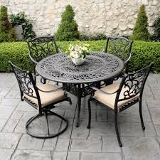 Patio Astonishing Outdoor Dining Set Clearance Patio Tables Wrought Iron Outdoor Furniture Clearance