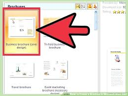 Microsoft Office Tri Fold Brochure Template Microsoft Office Tri Fold Brochure Templates Template Word Brochure