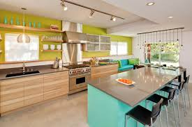 Image Hgtv One Kindesign 31 Bright And Colorful Kitchen Design Inspirations