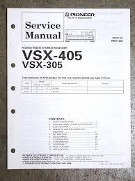 pioneer vsx 305 wiring diagram fe wiring diagrams pioneer vsx 405 vsx 305 dealer service manual original not a copy axxess interface wiring diagram pioneer vsx 305 wiring diagram