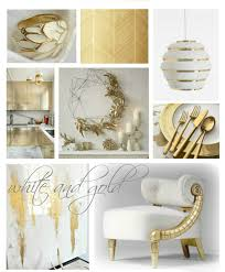White And Gold Decor Drab To Fab