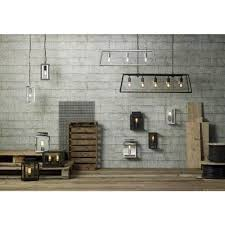 box shaped wall lantern for indoor