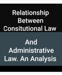relationship between consutional law