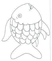 Template Outline Fish Drawing Pictures Www Picturesboss Com