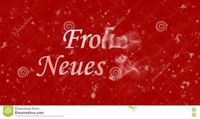 Il Testo Del Buon Anno In Tedesco I Neues Jahr Di Frohes Si Gira Verso  Polvere Illustrazione di Stock - Illustrazione di celebrazione, felice:  82158412
