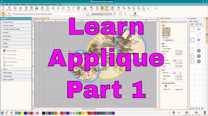 How To Digitize Applique Designs Intro To Machine Embroidery Applique Digitizing Editing Detail Work
