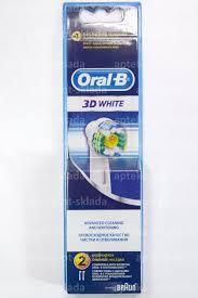 <b>Oral</b>-<b>B</b> сменные <b>насадки д</b>/электрич <b>зубной щетки</b> 3D White N 2 ...