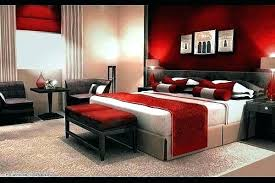Romantic red master bedroom ideas Furniture Colorful Red Master Bedroom With Oversize Headboard And Carpet By Design Browse Photos White Ideas Officalcharts Master Bedroom Designs Red Ideas Eclectic Design Blackscarfco